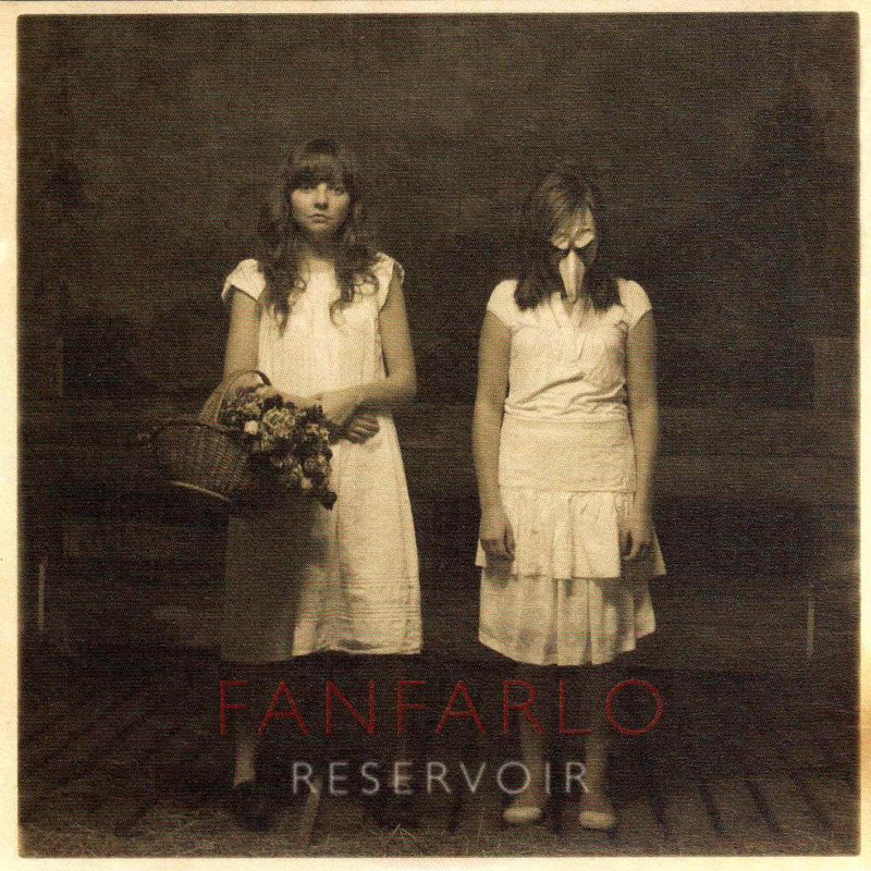 Fanfarlo 'Reservoir' CD sleeve001