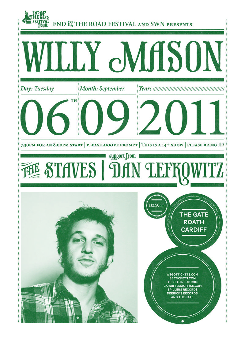 Willy mason_poster